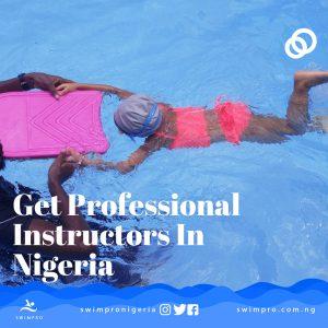 get swimpro professional instructors in Nigeria